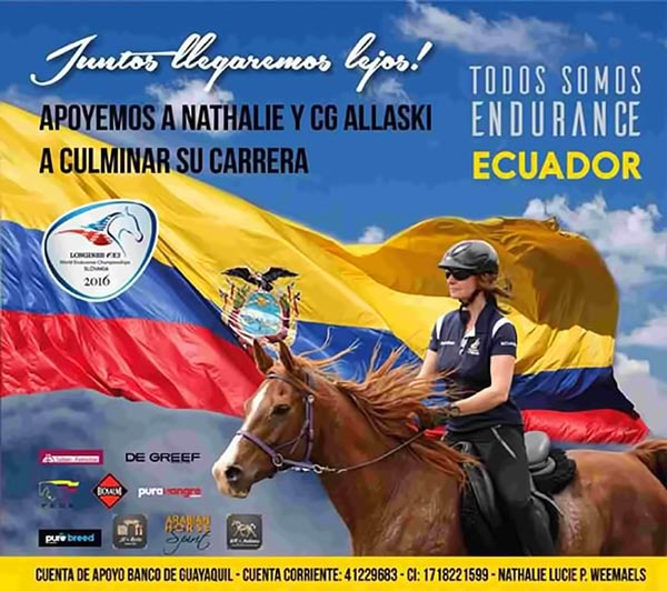 """Afiche """"Apoyamos a Nathalie y CG Allaski"""""""