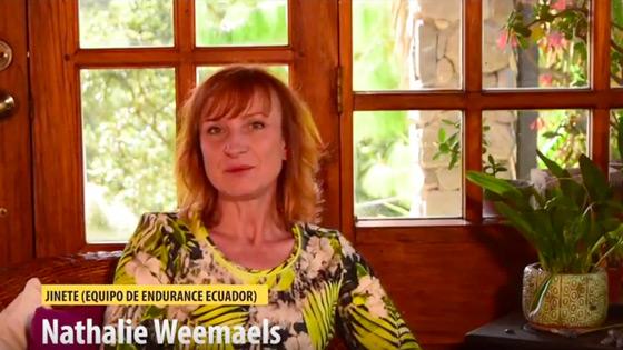 Entrevista Nathalie Weemaels | Equipo de Endurance Ecuador